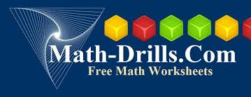 sites we love free math worksheets and printable math drills my