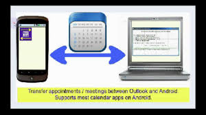sync outlook calendar with android youtube