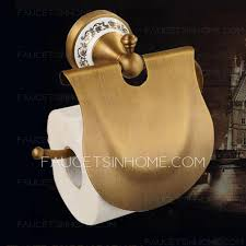 brass 6 pieces bathroom accessories