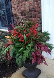winter containers kirkwood home u0026 landscape julie u0027s garden design