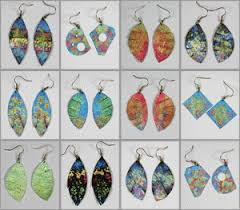 aluminum earrings dennis fehler s glass and wire gallery homepage