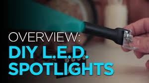 halloween spotlights overview diy led mini spotlight youtube