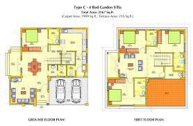 Villa Floor Plans Villa Designs And Floor Plans Ahscgs Com