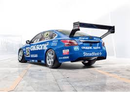 Nissan Altima V8 - motorsport calsonic and and bre livery race again in australia