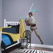 amazon roommates rmk star wars classic luke peel and from the manufacturer star wars luke skywalker wall decals