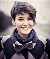edgy hairstyles round faces the short sassy hair look for round faces short hairstyle 2017