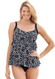 women u0027s plus size two piece swimsuits woman within clothing
