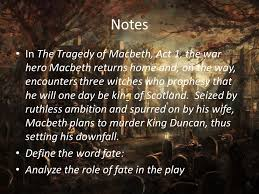 Blind Ambition In Macbeth Macbeth William Shakespeare Born On April 23 1564 Place Of Birth