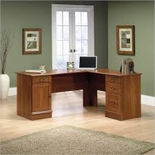 Sauder Traditional L Shaped Desk Sauder Select L Shaped Desk In Shaker Cherry 412750 Lowest