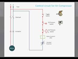 control circuit for air compressor youtube