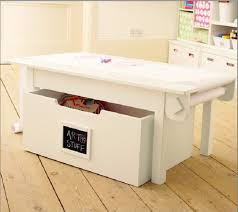 kids table with storage child activity table with storage table designs