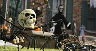 Scary Halloween Decorations For Outside simple diy halloween decorations outdoor placement dma homes 59960