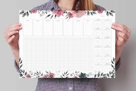 desk pad calendar 2018 desk calendar 2018 a3 desk pad large beautiful weekly
