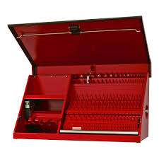 Tool Box Top Hutch Extreme Tools Tool Chests Tool Storage The Home Depot
