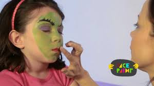 witch face paint tutorial youtube