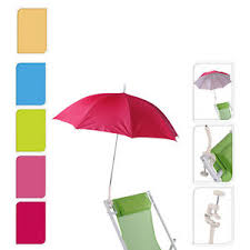 Chair Umbrellas With Clamp Probeach Garden Balcony Beach Deck Chair Clip On Clamp Umbrella