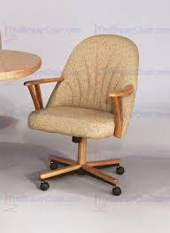 core c127 swivel tilt caster arm chair