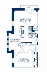 studio 1 2 3 bedroom apartments in washington dc camden blueprint of 1 1h floor plan 1 bedroom and 1 bathroom at camden roosevelt apartments