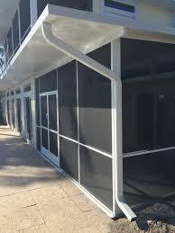 Aluminum Patio Enclosure Materials General Pool Cages U0026 Screen Enclosures Mullets Aluminum