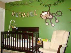 Monkey Decor For Nursery Nursery Wall Decal Monkeys And Giraffe Wall Decal Decor