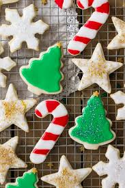 Christmas Cookie Decorating Kit Easy Sugar Cookie Recipe With Frosting Sugar Spun Run