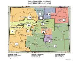 Health Map New Regional Boundaries Affect Colorado Health Insurance Premiums