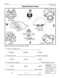 printable map key free 2 page worksheet packet introduction to map key for