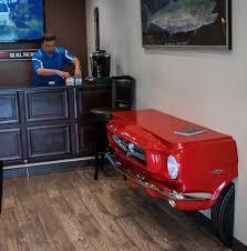 Mustang Pool Table Car Pool Tables Ford Mustang Ferrari Camaro And More