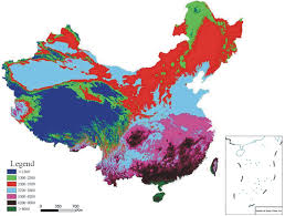 North America Biome Map by The Classification Indices Based Model For Npp According To The