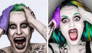 Female Joker Halloween by Amazing Cosplay Of Jared Leto U0027s The Joker