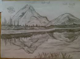 natural scene in sketch pencil how to draw a scenery pencil