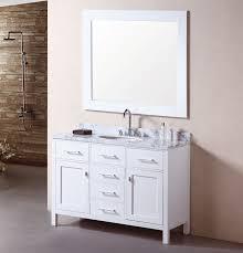 60 Single Bathroom Vanity Single Bathroom Vanity White Ideas For Home Interior Decoration