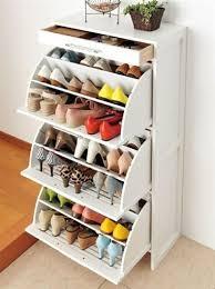 cara membuat lemari buku dari kardus bekas model rak sepatu unik minimalis dari bahan bekas terbaru