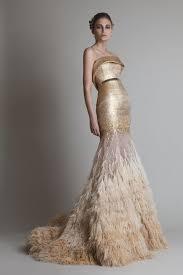 sequined wedding dress gold sequin wedding dress by krikor jabotian gold wedding