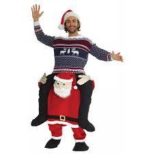 santa claus costume santa piggyback costume in santa claus costumes