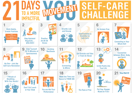 Challenge Breathing 21 Day Self Care Challenge Packet Move To End Violence