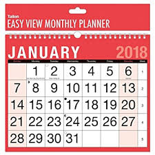 black friday games amazon calendar 2018 a4 easy month to view spiral bound wall planner calendar