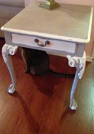 claw foot table with glass balls in the claw antique victorian oak brass ball claw foot end side table glass