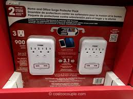 ge surge protector red light prime wire home and office surge protector pack