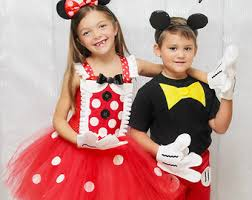 Halloween Costumes Mickey Minnie Mouse Minnie Mouse Costume Etsy