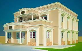Six Bedroom House Plans 3 Bedroom House Plans Ghana Luxihome