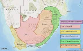 africa map climate zones south africa climate zone map