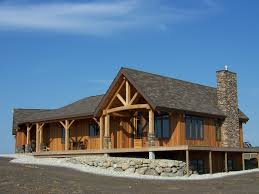 3 Cabin Style House Plans With Loft Rustic Barn Timberbuilt Homes