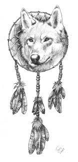 de populairste tags voor deze afbeelding zijn wolf dreamcatcher