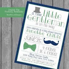 mustache invitations little gentleman baby boy shower invitations top hat bow