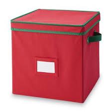 essential home 64 cube ornament storage box