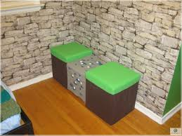 Cool Furniture In Minecraft by Cute Double Chairs Minecraft Design For Kid Bedroom Furniture