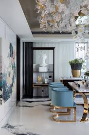 Living Room Dining Room Ideas by Gorgeous Room Blue And Gold Velvet Chairs Ceiling Sculpture
