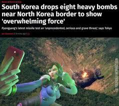 North Korea South Korea Meme - dopl3r com memes news world asia south korea drops eight heavy