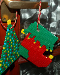 hama bead christmas tree decorations ofamily learning together